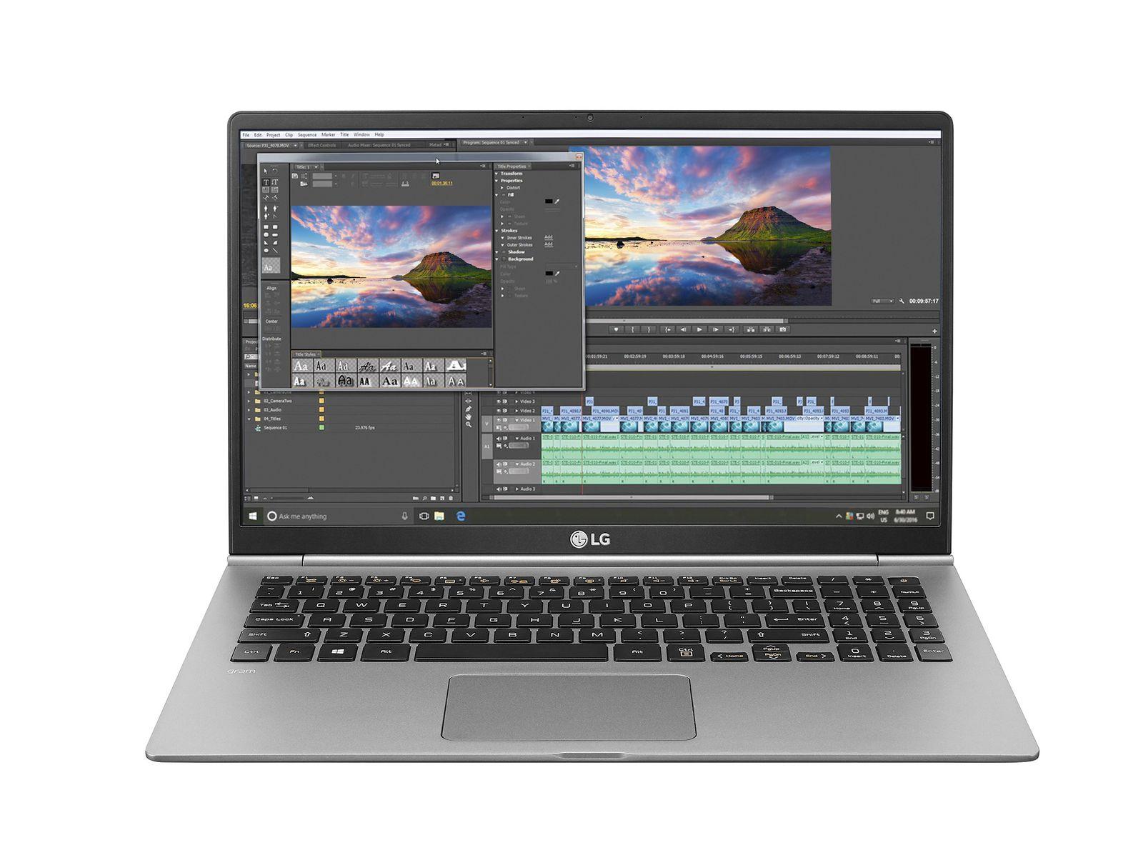 LG Gram 2018 : ils promettent 22,5 heures d'autonomie sur cet ordinateur portable