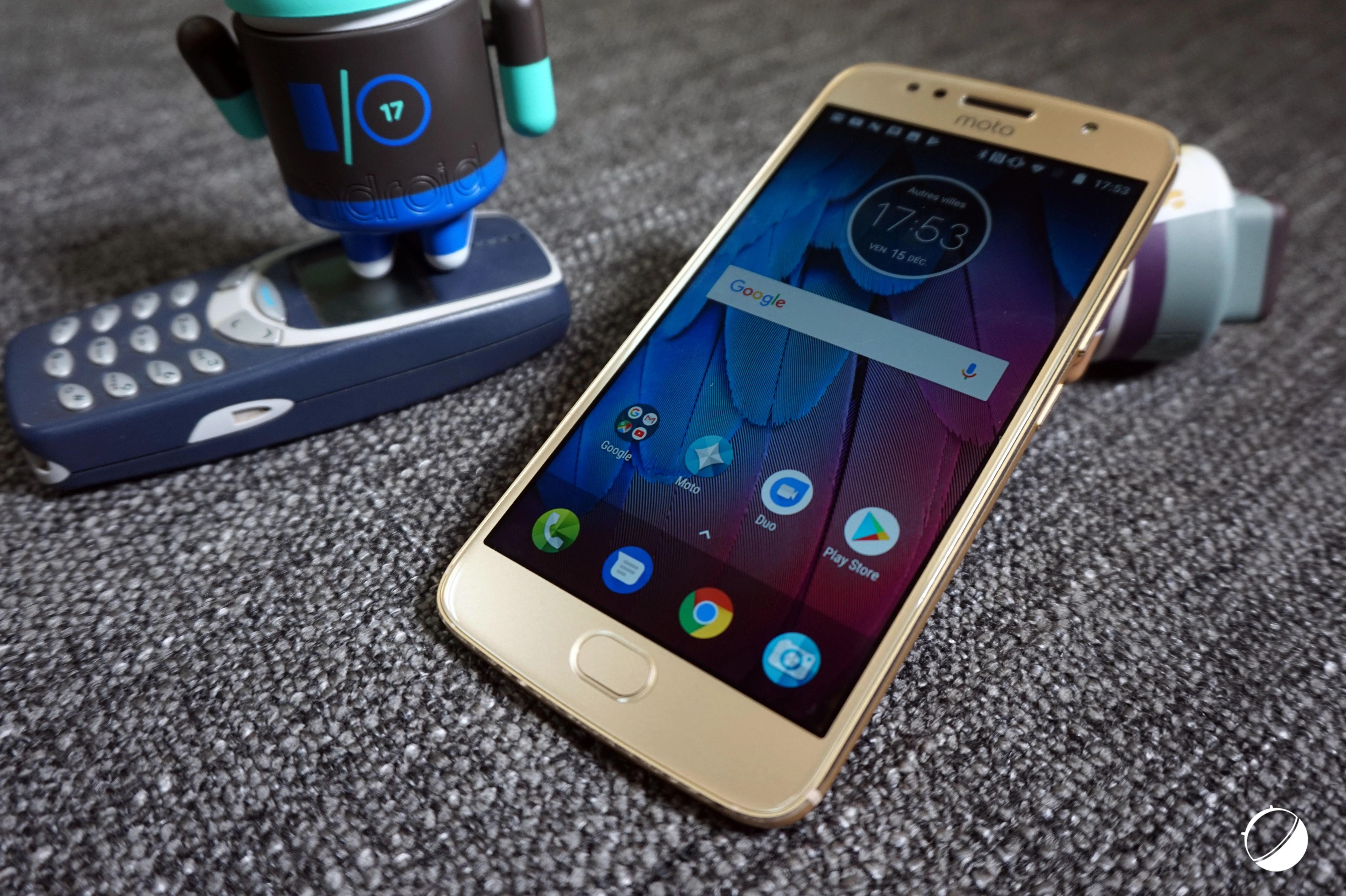 Test du Motorola Moto G5s : une bonne autonomie à prix abordable
