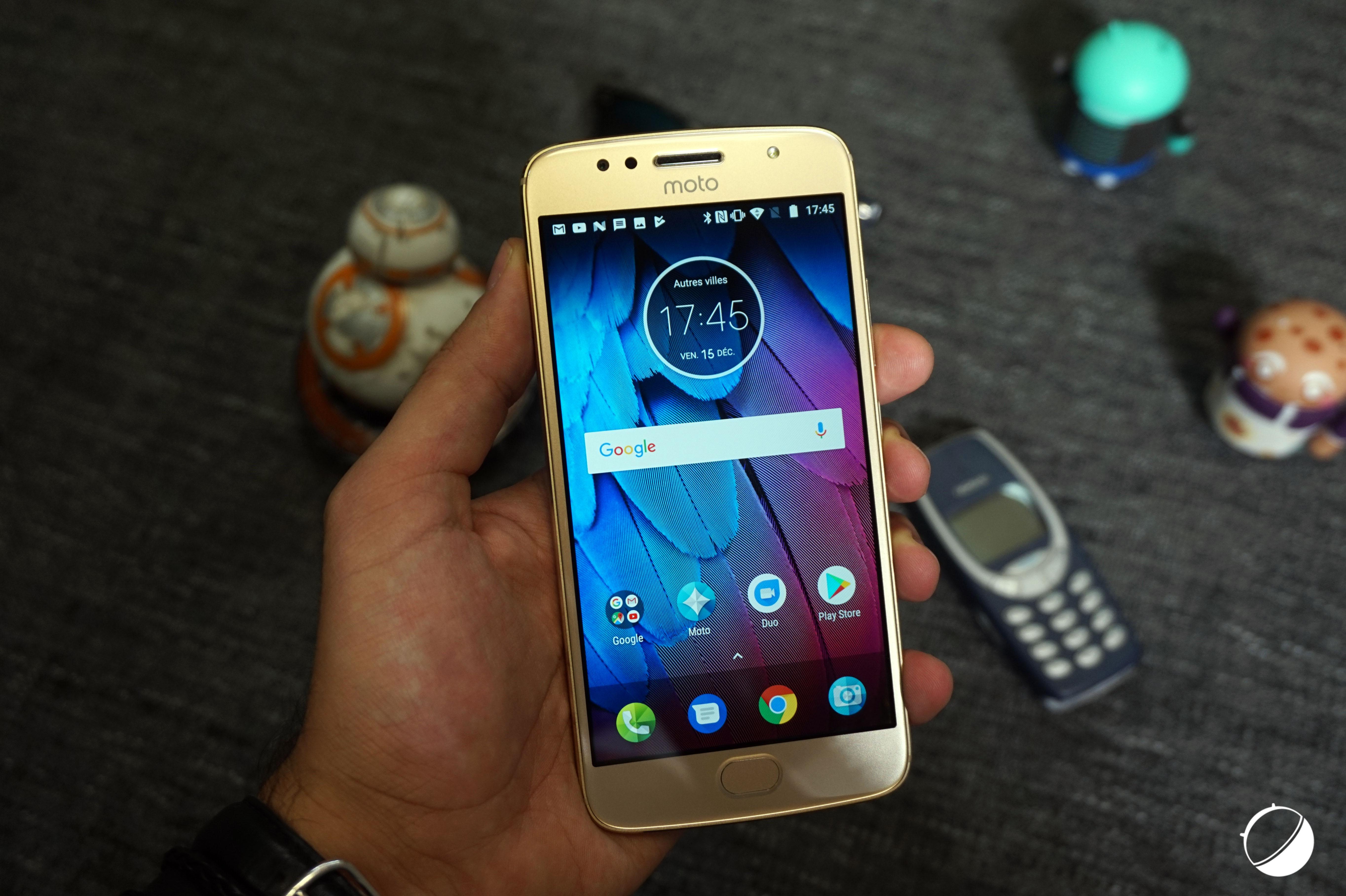 🔥 Bon plan : le Motorola G5S est disponible pour 151 euros au lieu de 199 euros