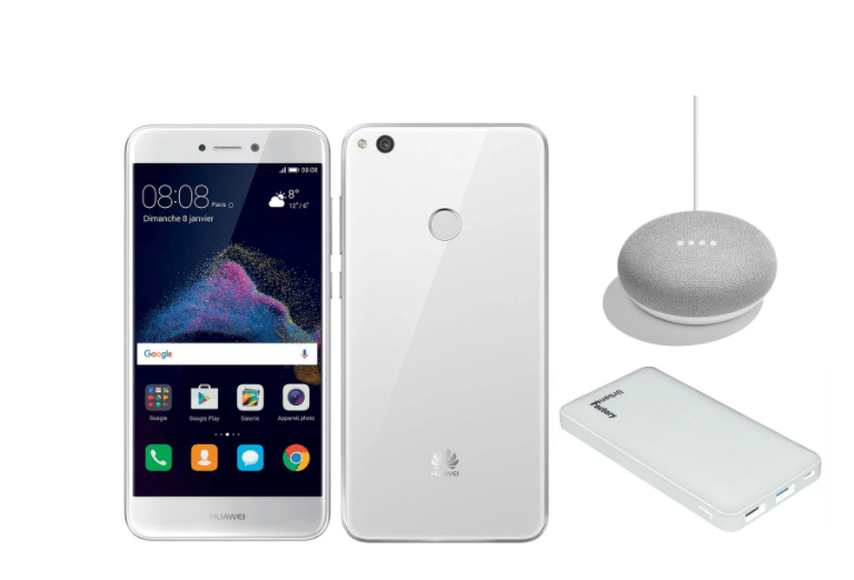 🔥 Bon plan: le Huawei P8 Lite (2017) passe à 199 euros avec un Google Home Mini et une batterie externe