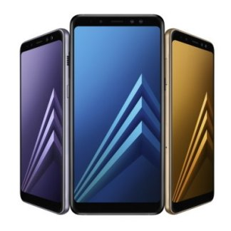 Samsung présente ses Galaxy A8 et A8+ avec écran 18,5:9 et double capteur photo avant