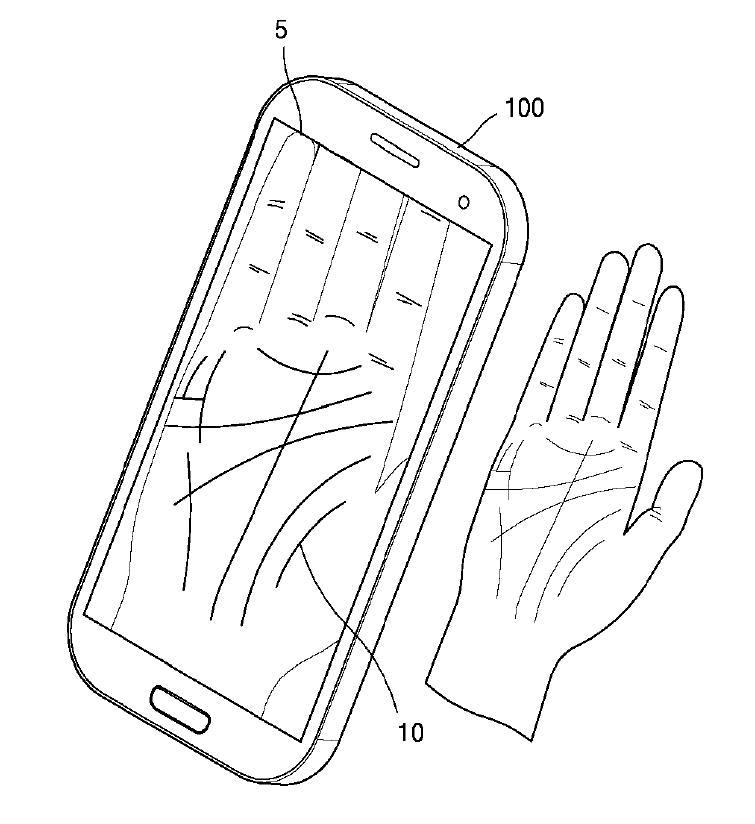 Samsung veut lire vos lignes de la main pour vous aider à déverrouiller le téléphone