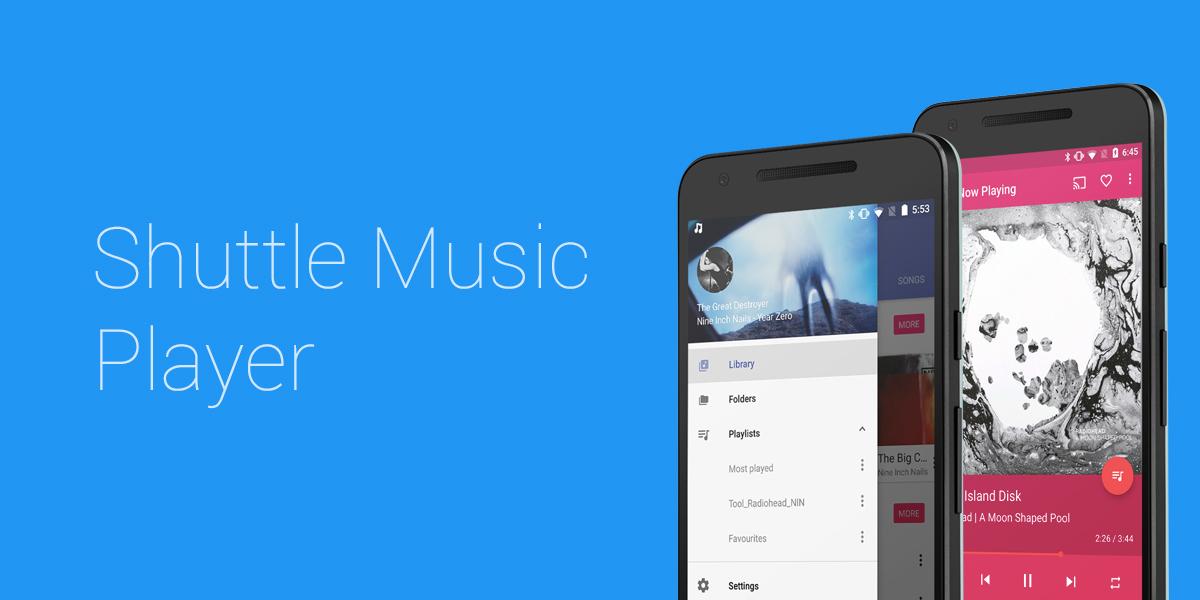 Shuttle Music Player : l'un des meilleurs lecteurs audio s'offre une grosse mise à jour