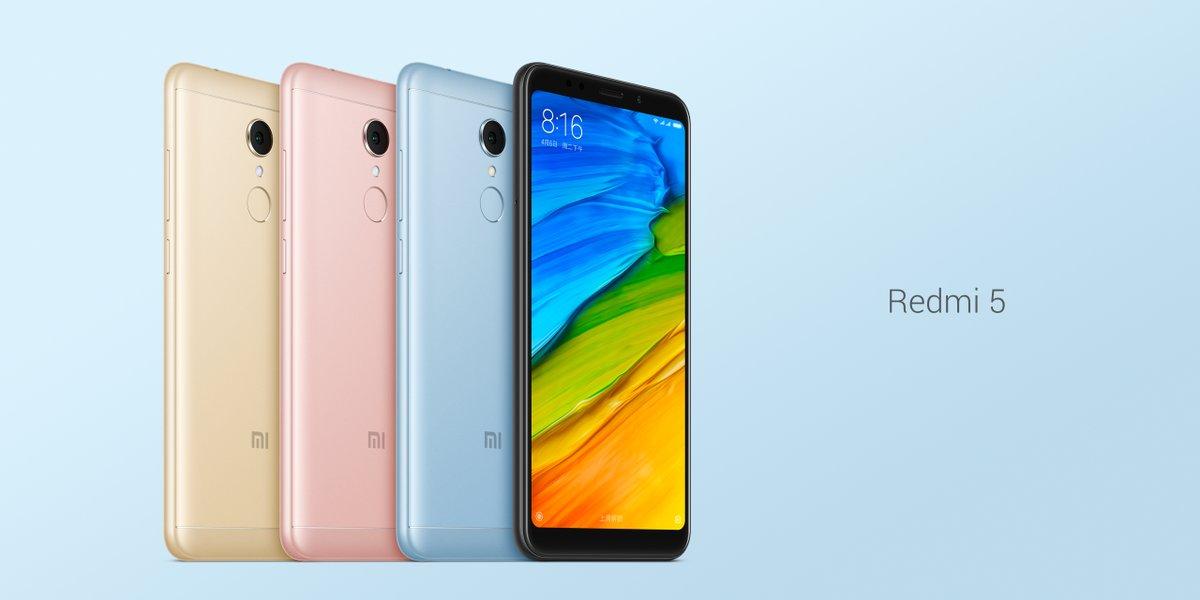 🔥 Bon plan : le Xiaomi Redmi 5 passe à 92 euros