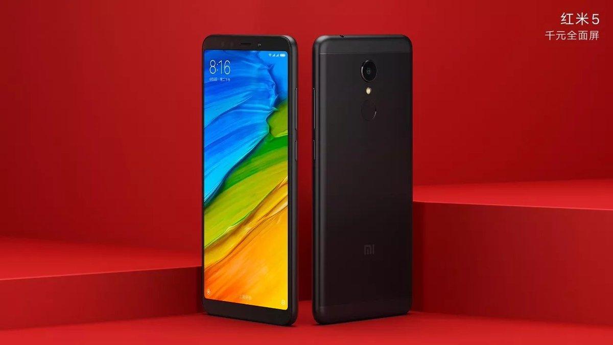 Les Xiaomi Redmi 5 et 5 Plus dévoilent officiellement leur nouveau design