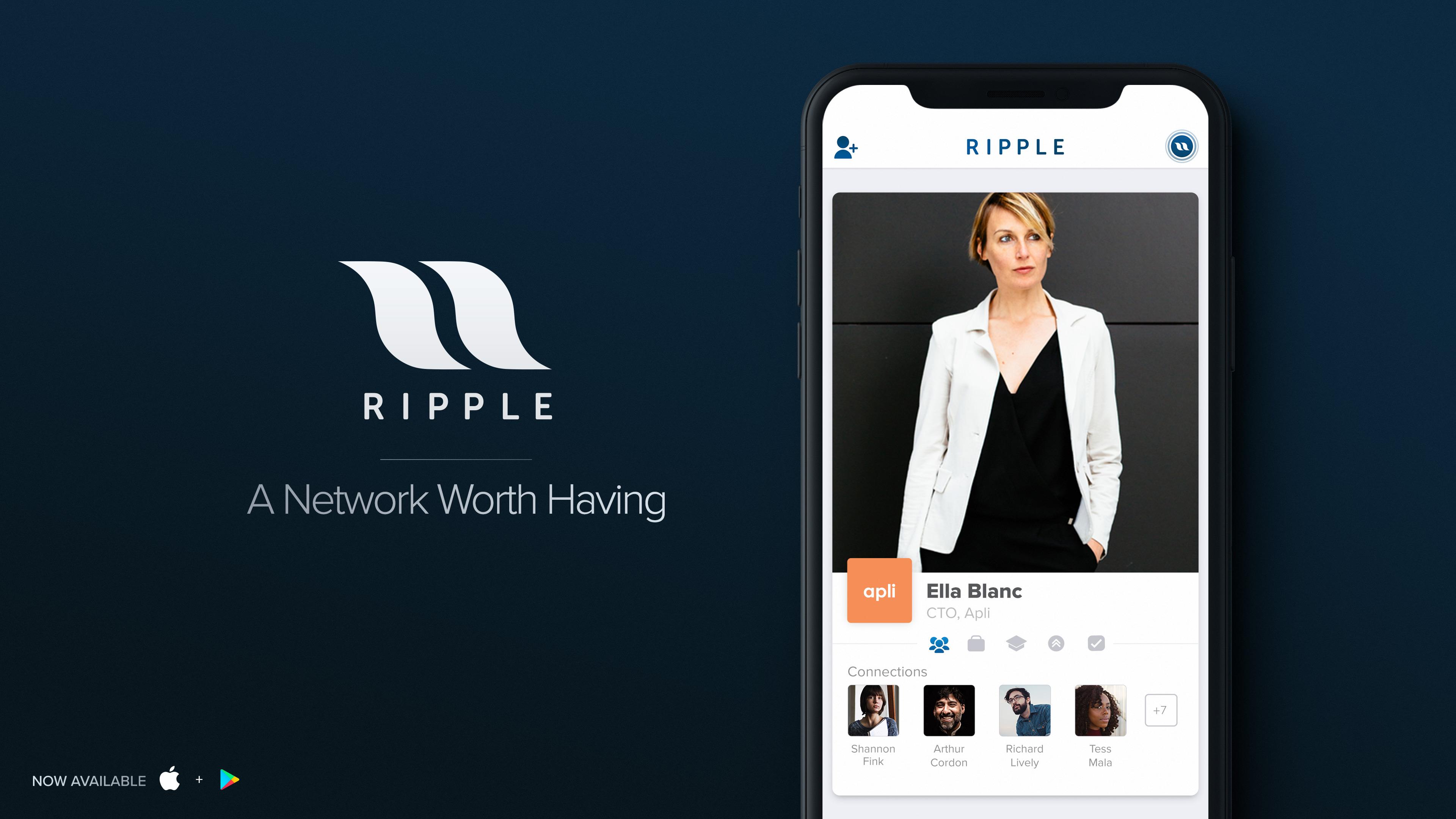 Tinder lance Ripple, pour chasser les professionnels sur les plates bandes de LinkedIn