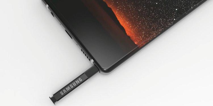 Voici le Samsung Galaxy Note 9 : un rendu presse officiel apparaît en fuite