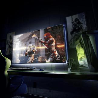 Nvidia voit grand pour les gamers : des écrans 65 pouces 4K HDR 120 Hz sous Android TV – CES 2018
