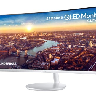CES 2018: Samsung dévoile un nouvel écran QLED incurvé avec Thunderbolt 3