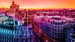 Elephone : lancement des U et U Pro, smartphones à l'influence Galaxy