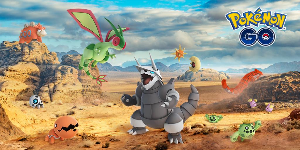 Pokémon GO accueille 23 nouveaux Pokémon de la 3e génération
