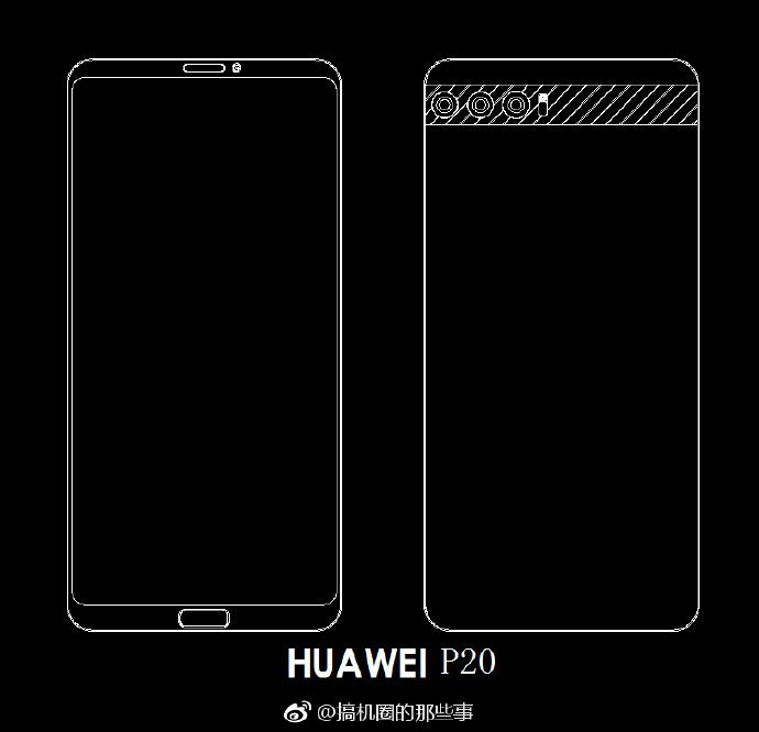 Le Huawei P11 s'appellerait P20: 3 modèles à prévoir avec triple capteur photo