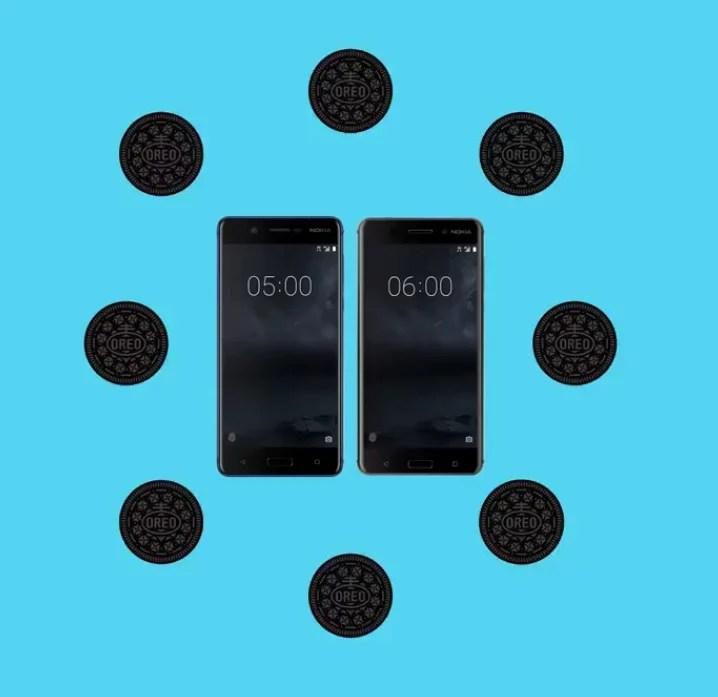 Nokia 5 et Nokia 6 : Android 8.0 Oreo est en cours de déploiement