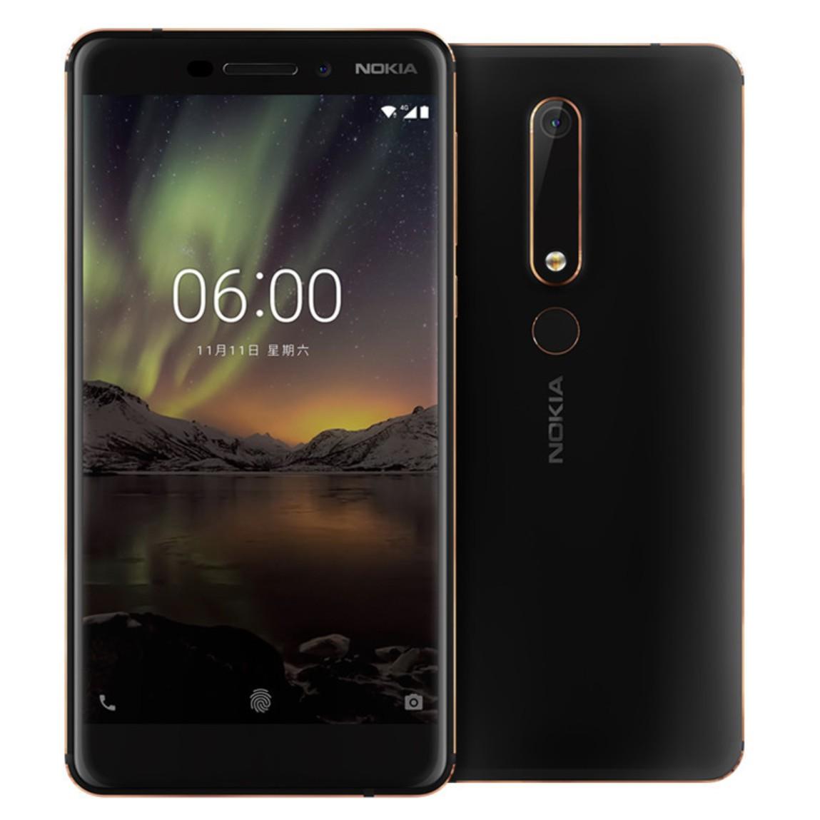 Nokia 6 (2018) : le voici, avec des visuels, des caractéristiques et une date d'annonce