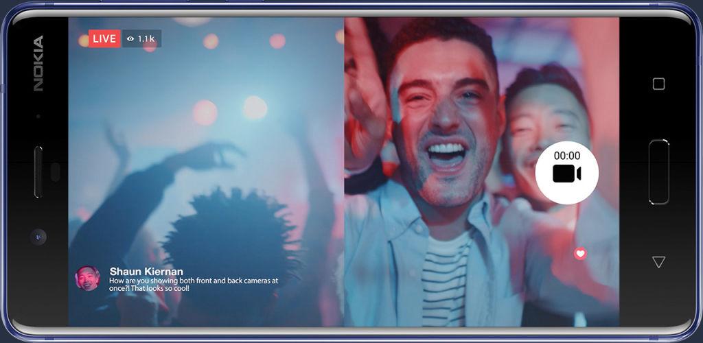 3 façons funs de raconter l'envers de vos histoires en photo et vidéo avec le mode Bothie du Nokia 8