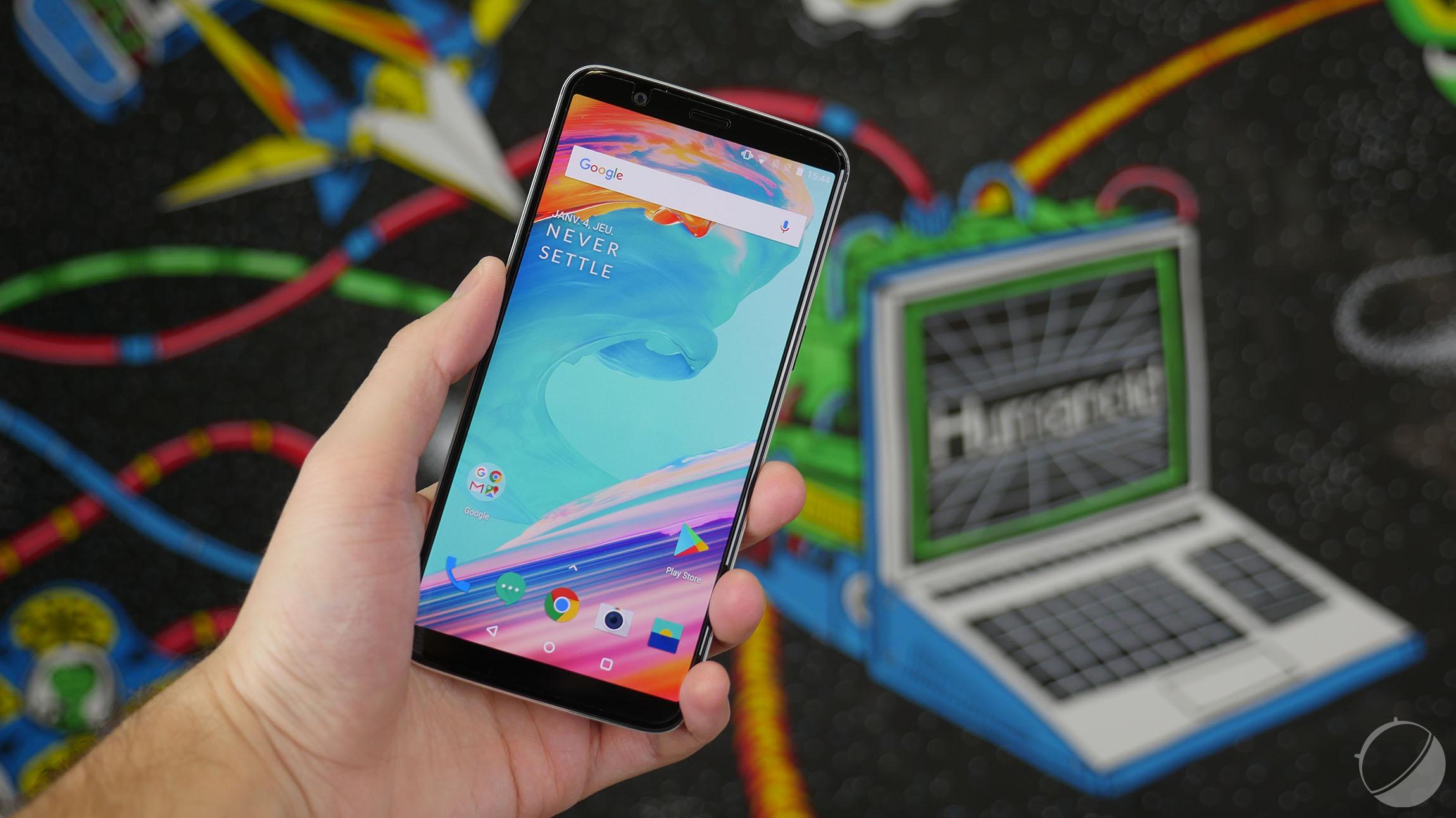 OnePlus 5 et 5T : la mise à jour vers Android 10 est disponible