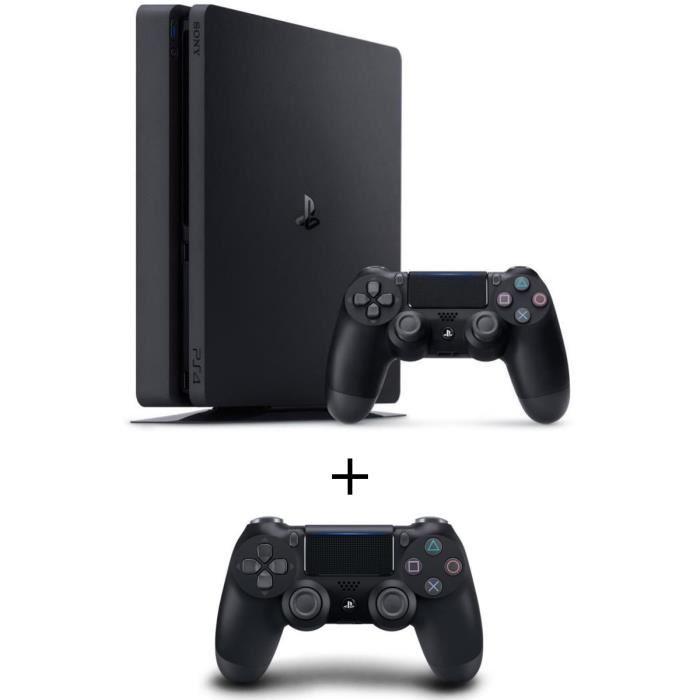 🔥 Soldes : une PS4 Slim 500 Go avec un jeu PlayLink et une manette supplémentaire pour 299 euros