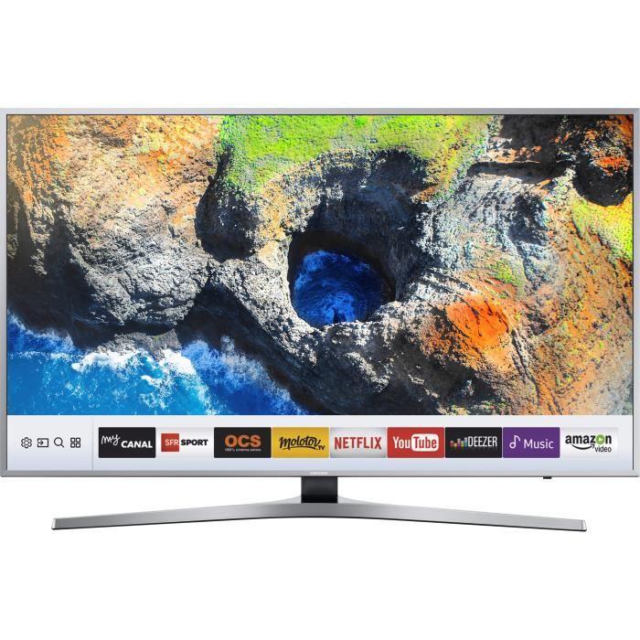 🔥 Soldes : la Samsung UE49KU6450 TV LED UHD 4K 49″ est à 599 euros sur Cdiscount