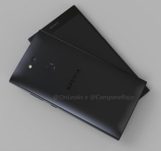 Sony Xperia L2 : des rendus 3D donnent un aperçu tout en rondeur