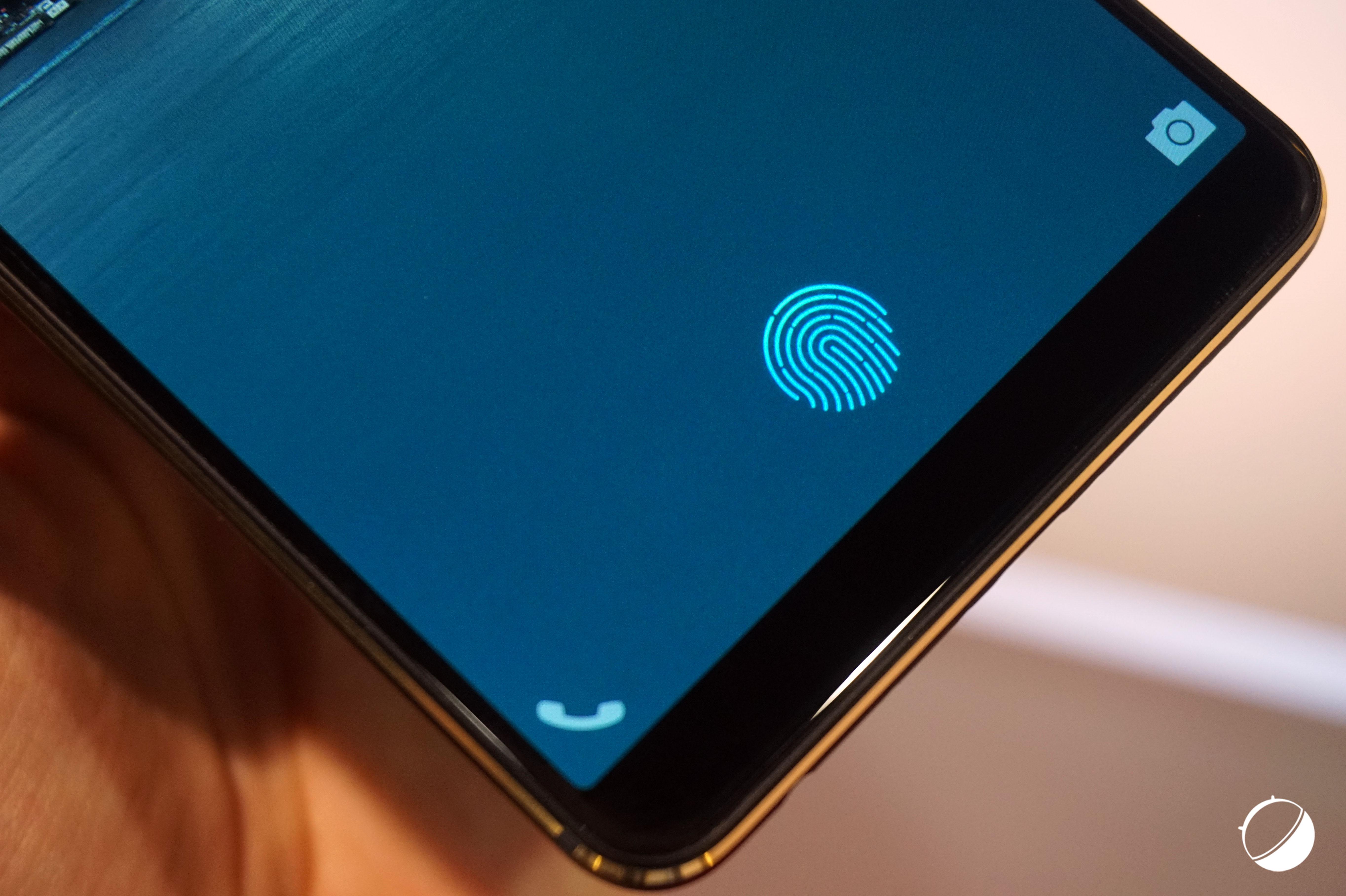 Le 1er smartphone avec lecteur d'empreintes sous l'écran pourrait être annoncé très bientôt