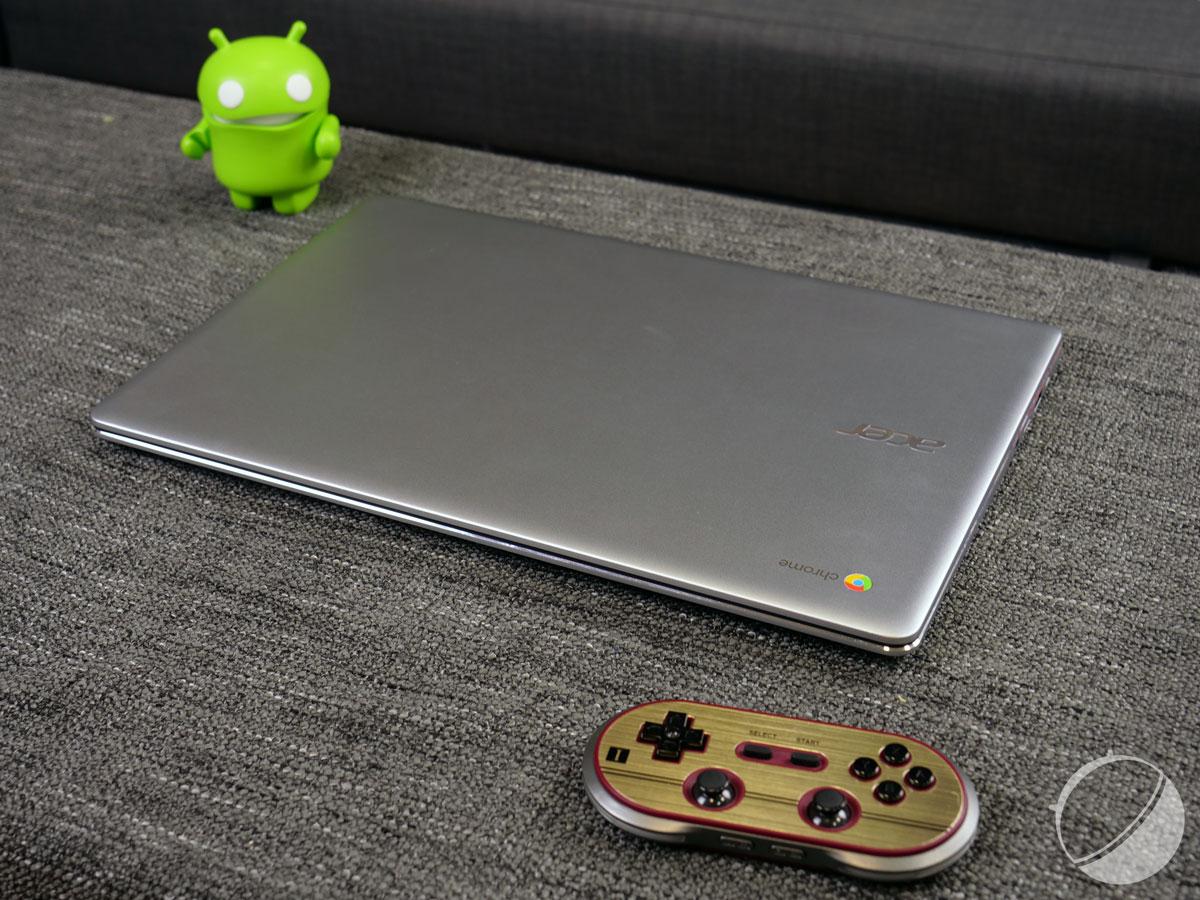 Google préparerait un Chromebook doué pour les jeux vidéo