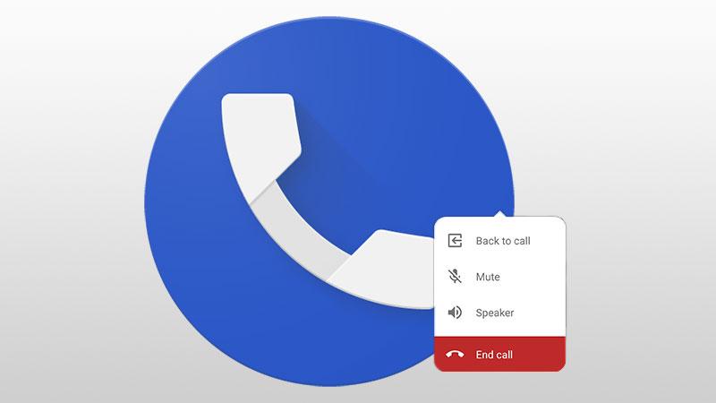 Google Téléphone version 17 : des bulles de chat pour les appels en cours