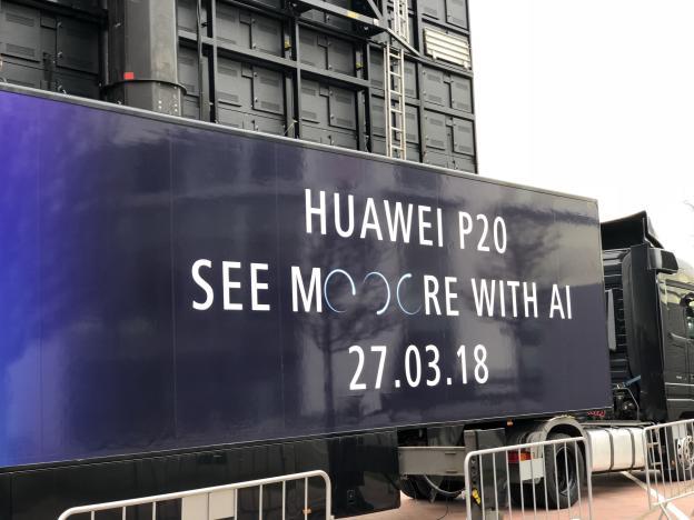 Le nom du Huawei P20 officialisé avant sa présentation