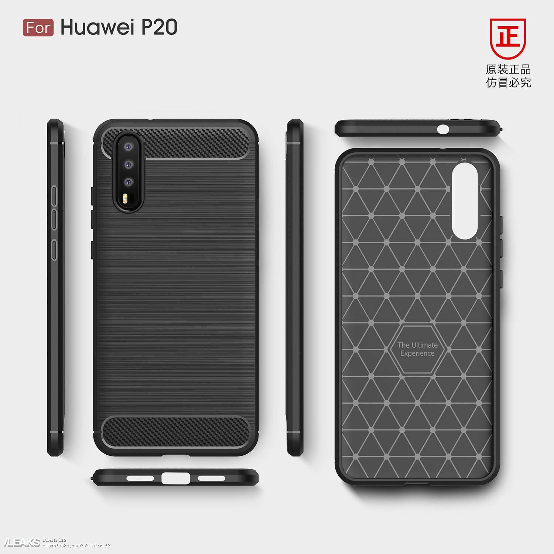 Huawei P20 : le triple capteur photo réapparaît dans plusieurs rendus