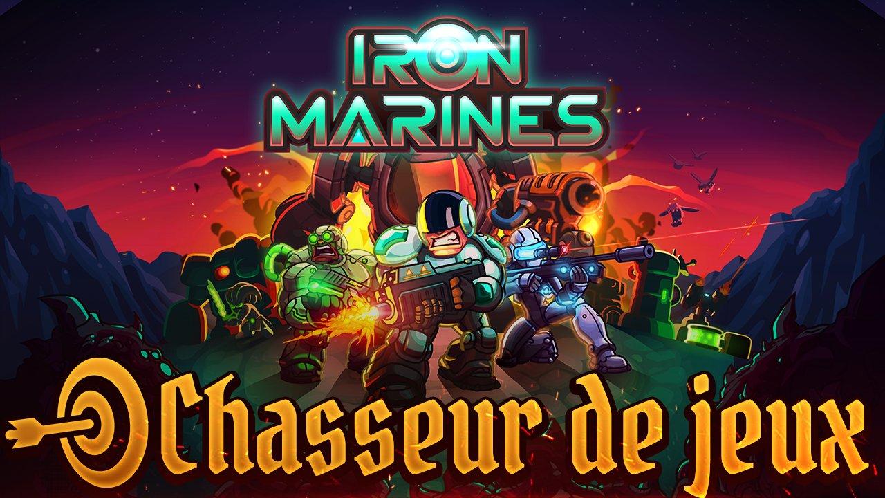 Chasseur de Jeux : découvrez Iron Marines avec Oxem