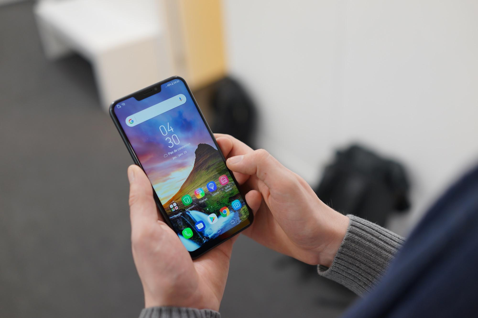 L'Asus Zenfone 5Z est de loin le meilleur rapport qualité/prix du MWC 2018