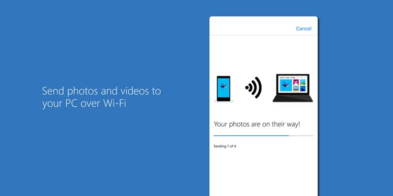 Microsoft Photos Companion : le transfert de photo entre smartphone et PC devient un jeu d'enfant