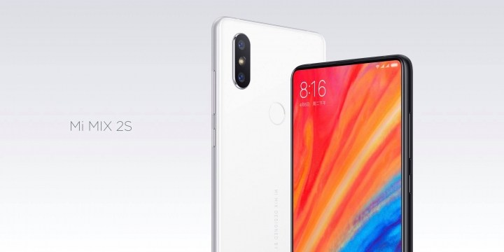 Le Xiaomi Mi Mix 2S officialisé : d'excellentes photos et plus de puissance