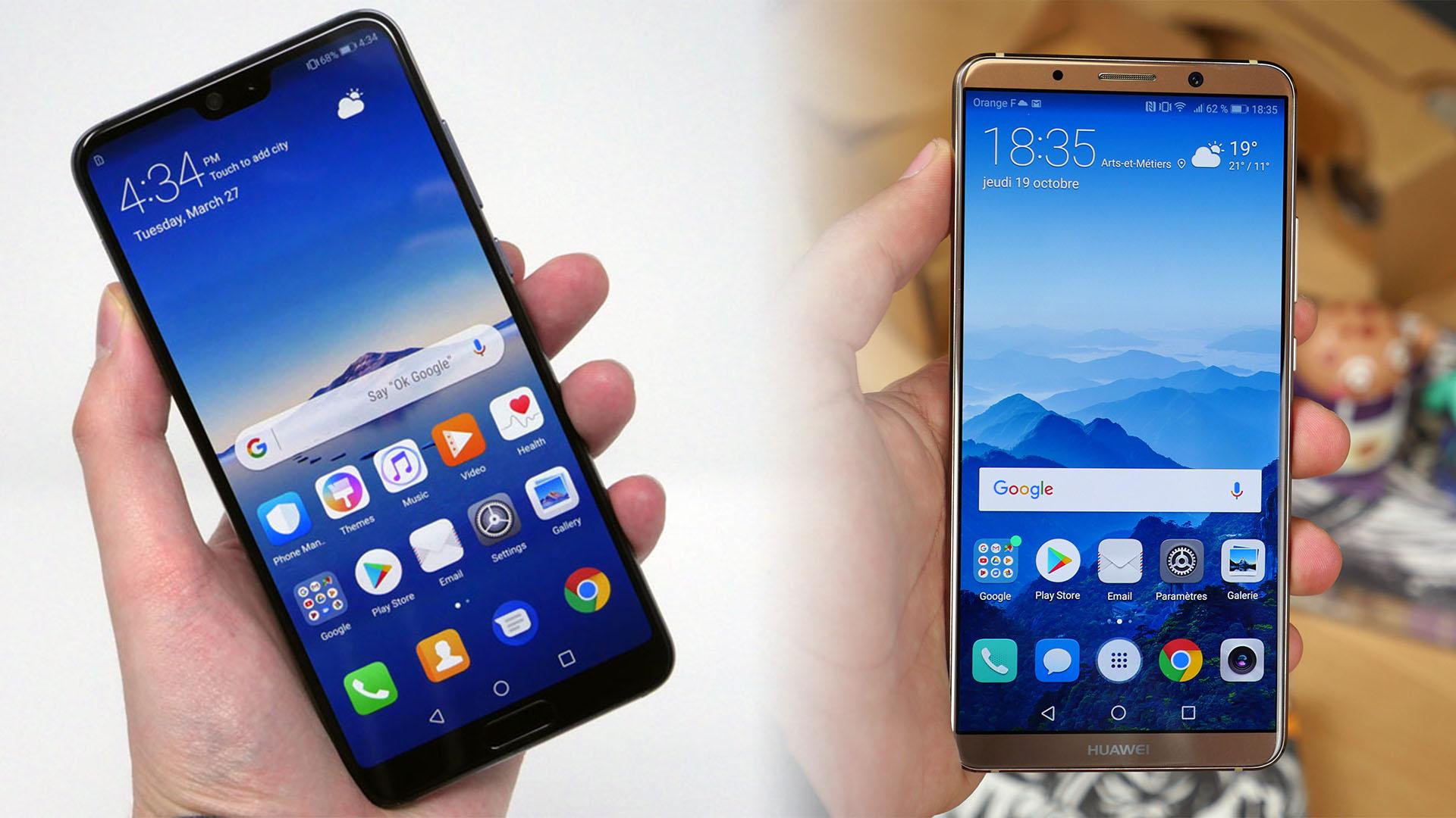 Huawei P20 Pro vs Huawei P20 vs Huawei Mate 10 Pro : comment les différencier?