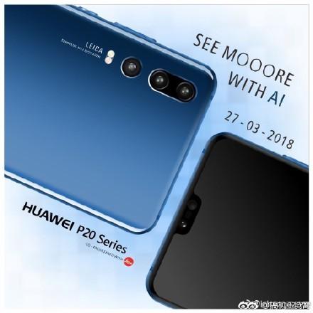 Huawei P20 : une image promotionnelle supposée rappelle ce qu'on sait déjà
