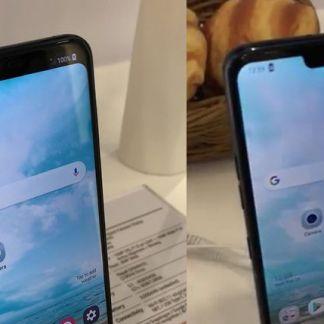 Le LG G7 permettrait d'effacer l'encoche en haut de son écran