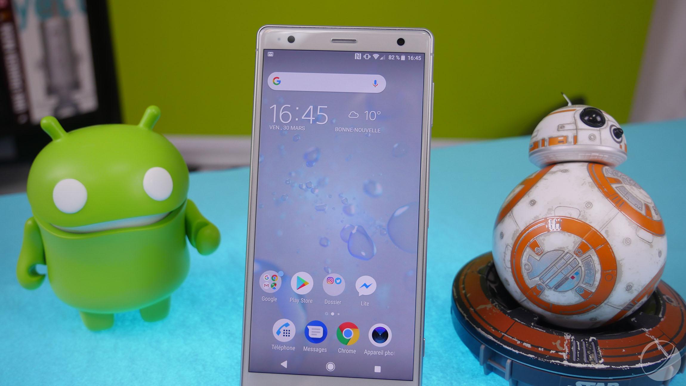 Sony développe un nouveau launcher pour ses smartphones
