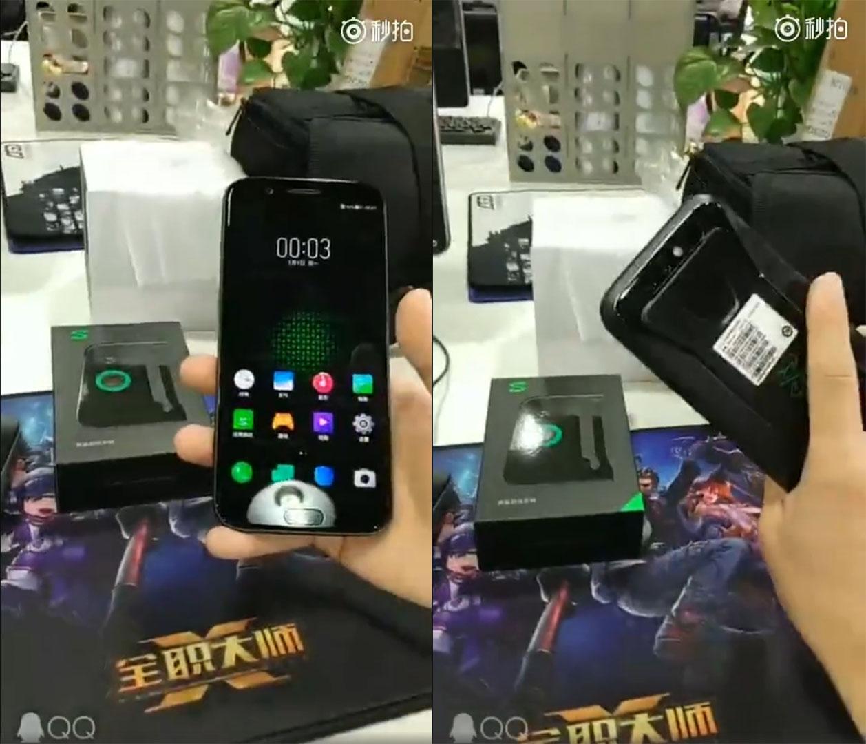 Xiaomi Black Shark: le smartphone gamer apparait dans une courte vidéo