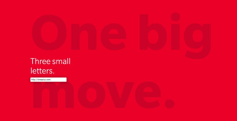 OnePlusse dote enfin d'une adresse web à la hauteur de ses ambitions