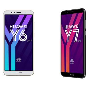 Où trouver le Huawei Y6 et le Y7 2018 au meilleur prix ?