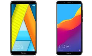 Les Honor 7A et Honor 7C sont disponibles en précommande : où les acheter ?