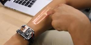 LumiWatch veut transformer votre avant-bras en écran tactile