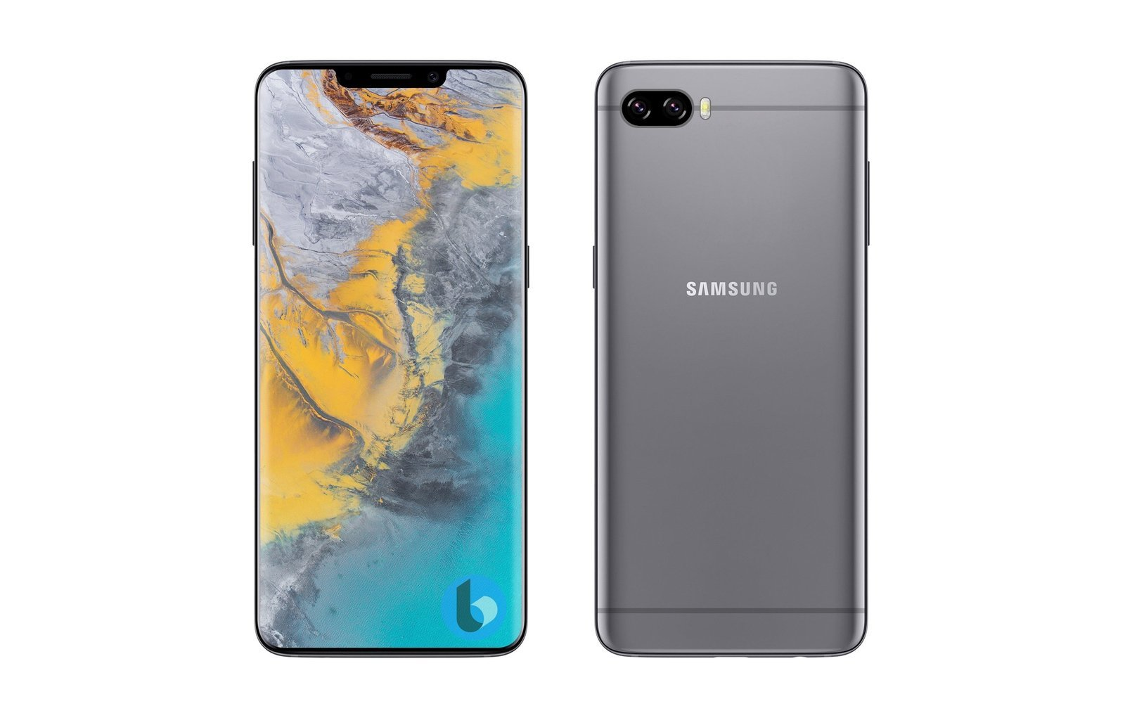 Samsung Galaxy S10 : un artiste l'imagine avec une encoche