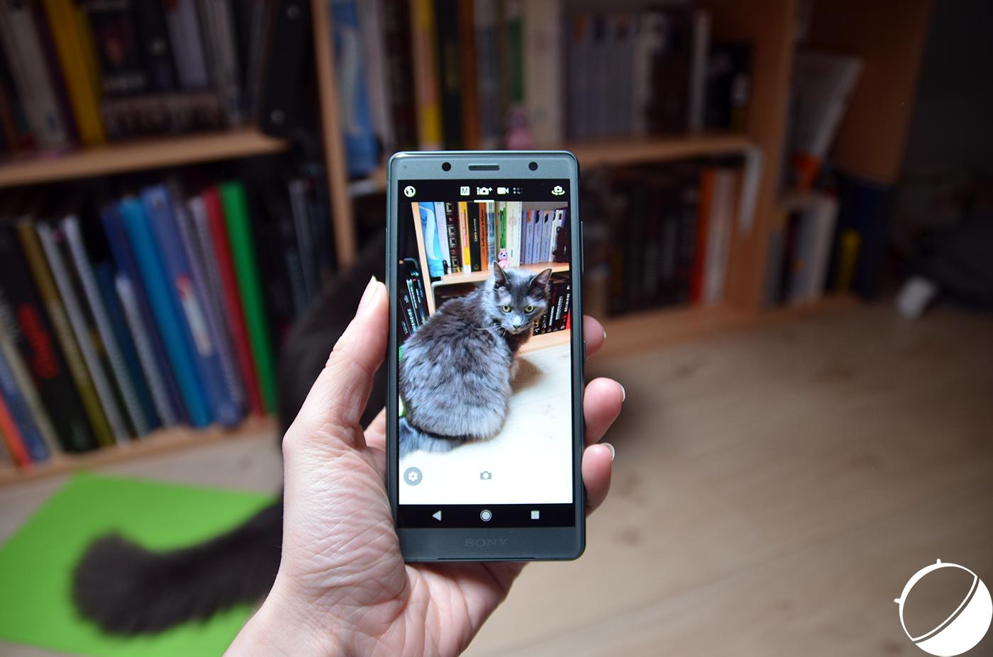Google Lens est disponible directement dans l'appareil photo des derniers Sony Xperia