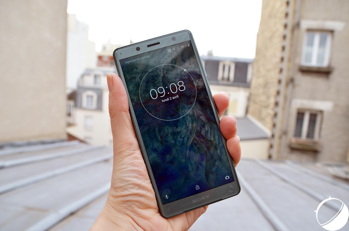 Sony Xperia XZ2 : la bêta 2 d'Android P est disponible