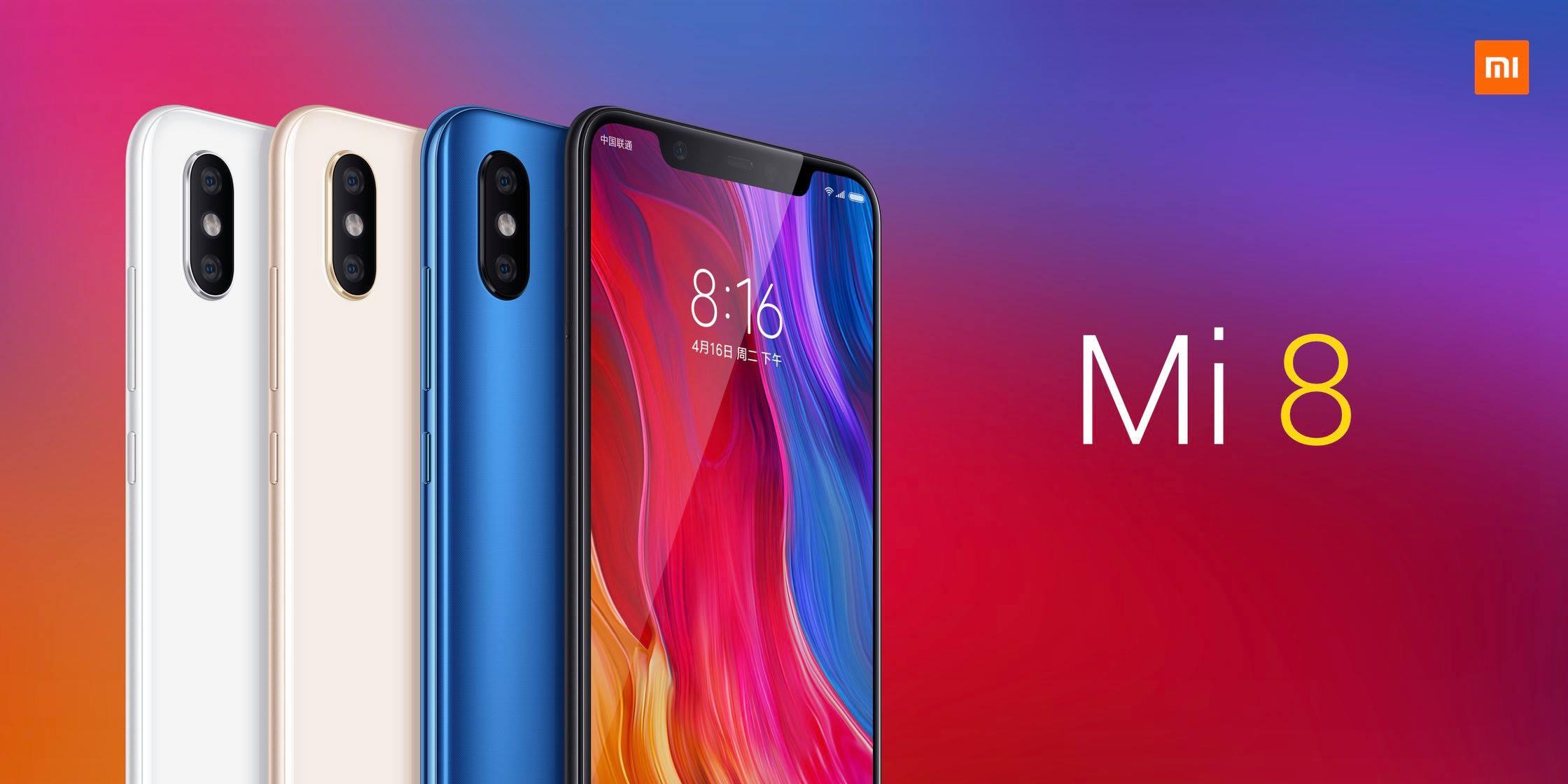 Xiaomi annonce les Mi 8 et Mi 8 Explorer : voici leurs caractéristiques et leurs prix