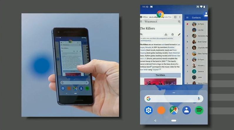 Android P : une toute nouvelle navigation par gestes