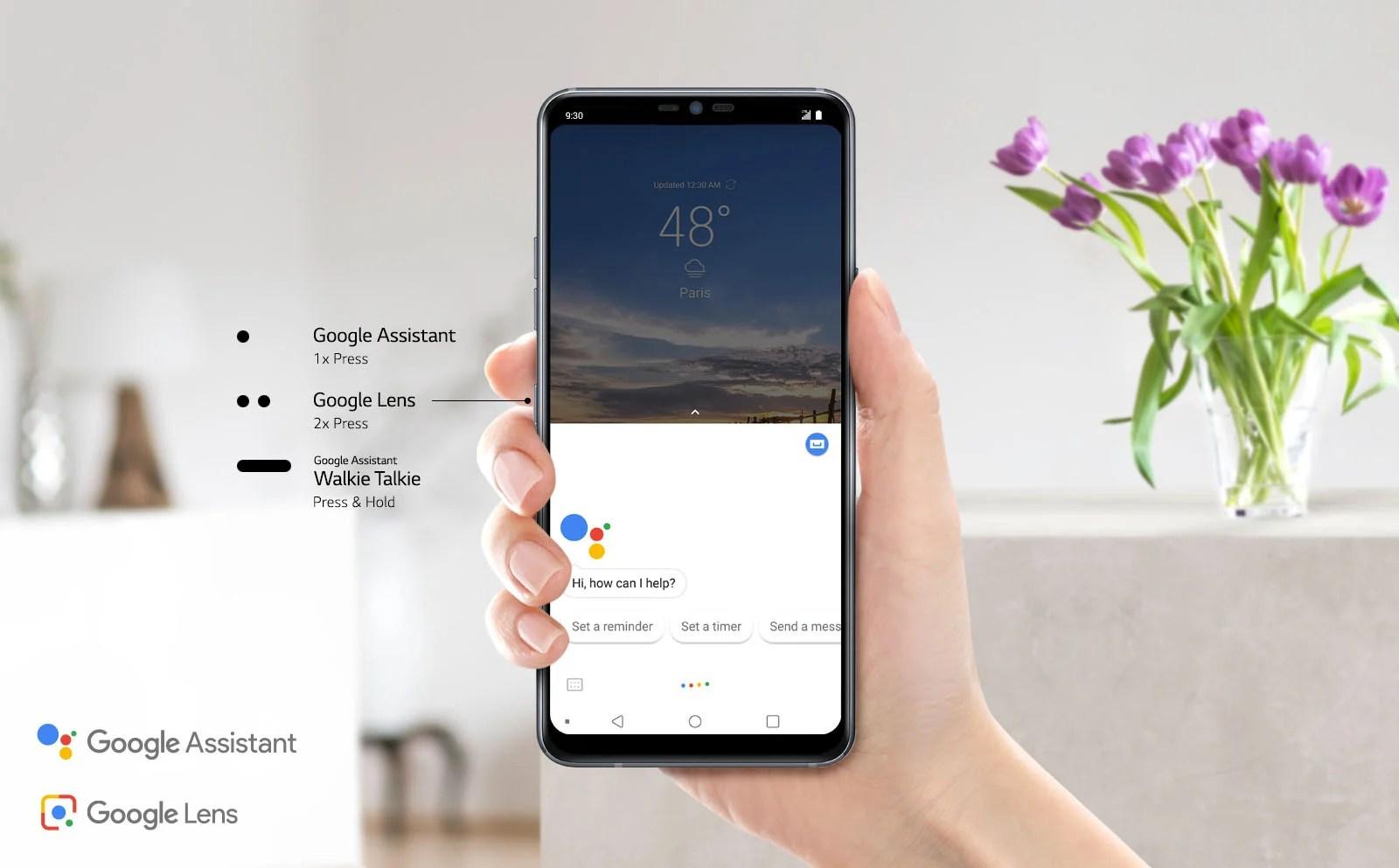 Google Lens: le LG G7 ThinQ tease de nouvelles fonctionnalités pour la Google I/O