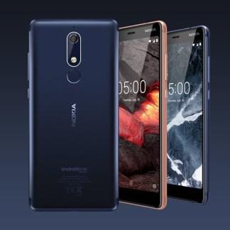 Nokia 3.1 et 5.1 : l'entrée de gamme du Finlandais passe au 18:9