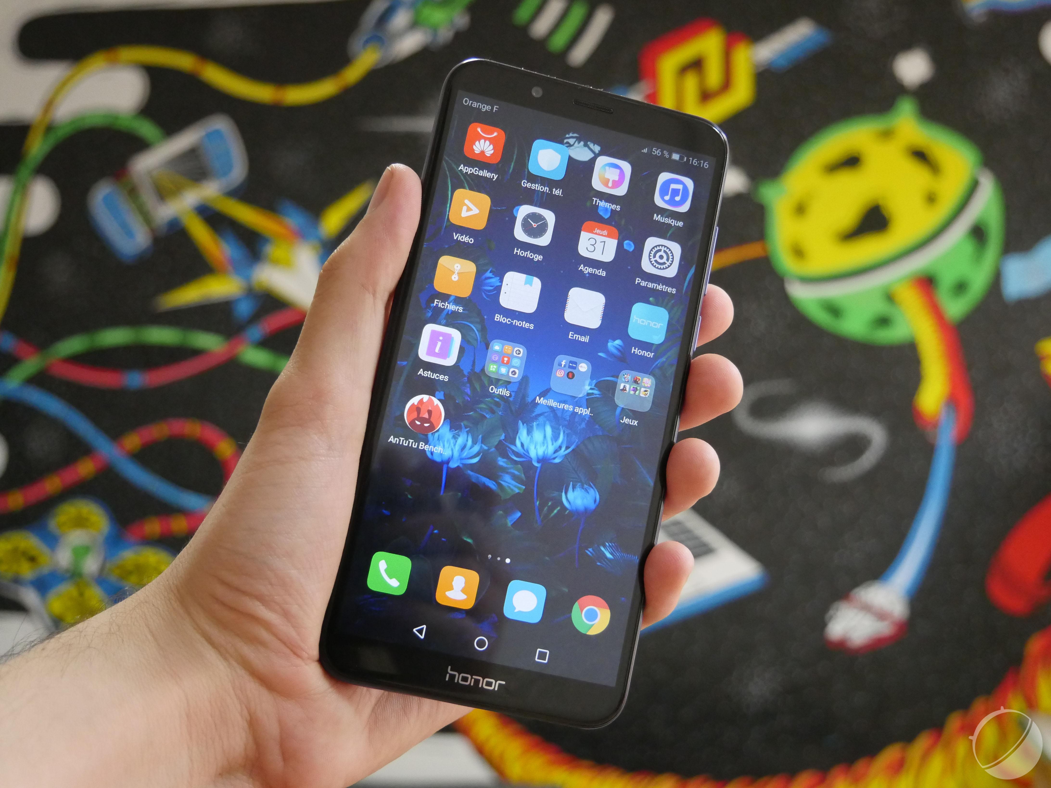 Test du Honor 7C : le grand smartphone dans la cour des petits prix