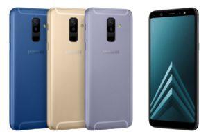 Samsung Galaxy A6 et A6+ officialisés : la photo en ligne de mire